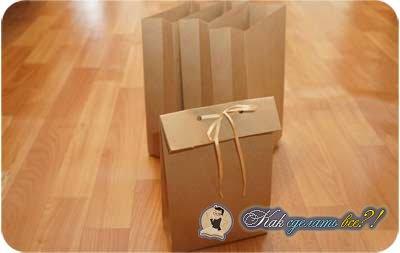 Как сделать бумажные пакетики 61