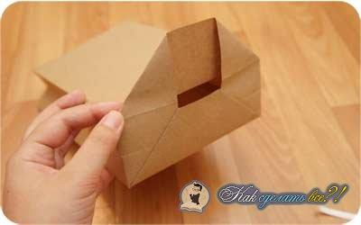 Как сделать бумажные пакетики 45