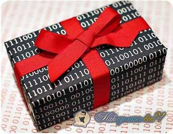 Как упаковать подарок пошаговое 46