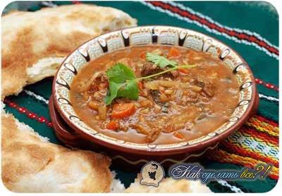 Харчо из телятины рецепт пошагово