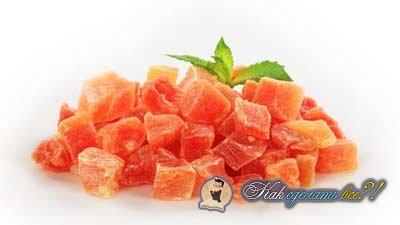 Как сделать цукаты из тыквы?