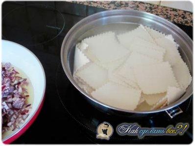 Как сделать лазанью?