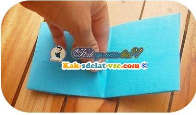 Как своими руками сделать кошелёк из бумаги