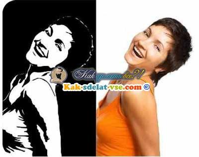 как сделать чёрно-белое фото в фотошопе