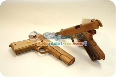 Из чего собрать пистолет своими руками
