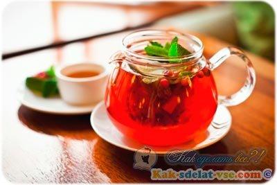 домашний чай для похудения