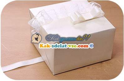 Как упаковать подарок на свадьбу?