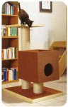 Как сделать домик для кошки?