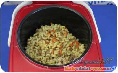 Как сделать макароны по-флотски?