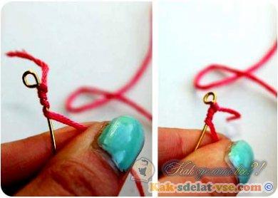 Как сделать ожерелье?