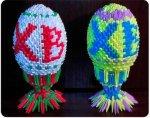 Как сделать пасхальное яйцо оригами?