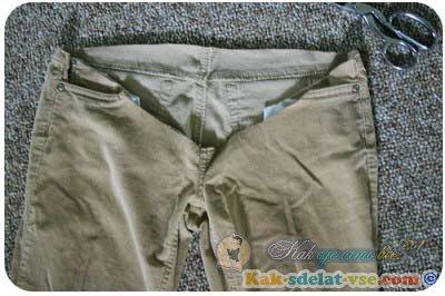 Как из штанов сделать штаны для беременных своими руками фото 462
