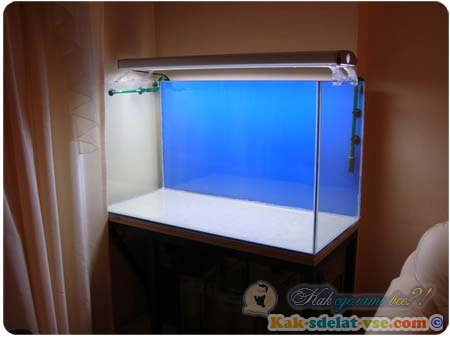 Как изготовить аквариум своими руками