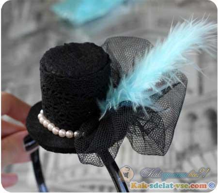 Как сделать шляпу для девочки 282