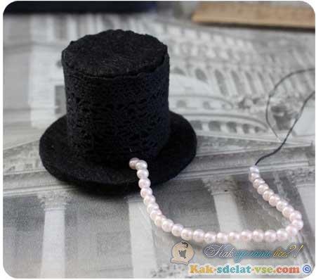 Как сделать шляпу для девочки 723