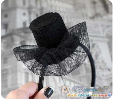 Как сделать шляпу для девочки 354