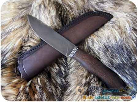 сделать нож самому пошаговая инструкция - фото 7
