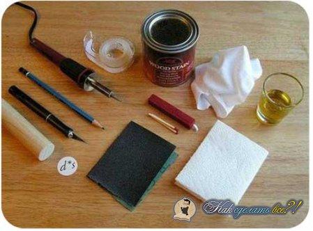 Как сделать печатку?