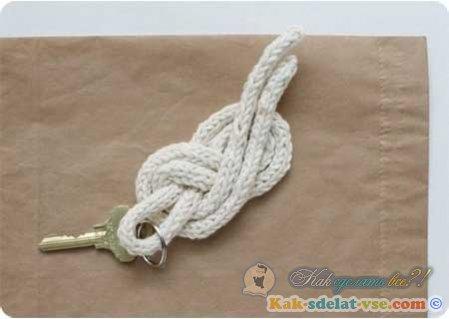 Как сделать морской узел?
