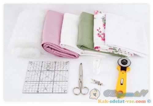 Как сшить детское лоскутное одеяло пошаговая инструкция