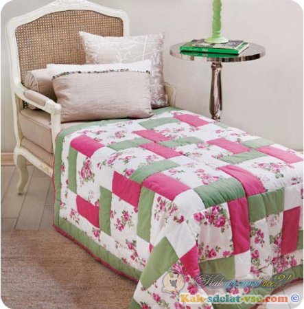 Как сделать лоскутное одеяло?