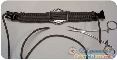 Как сделать браслет из паракорда?