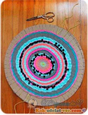 Как сделать коврик?