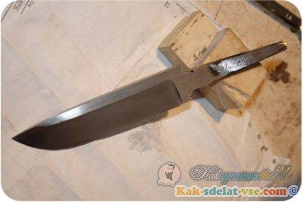 Как сделать нож своими руками?