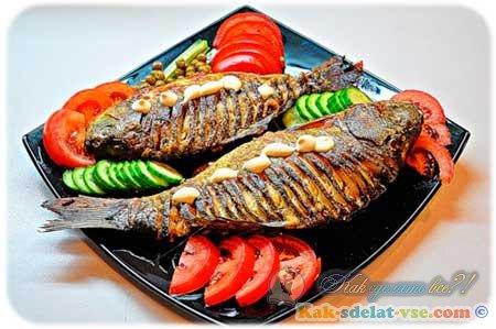 Как сделать рыбу в духовке?
