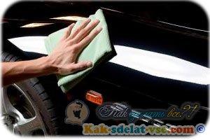 Как сделать полировку машины?
