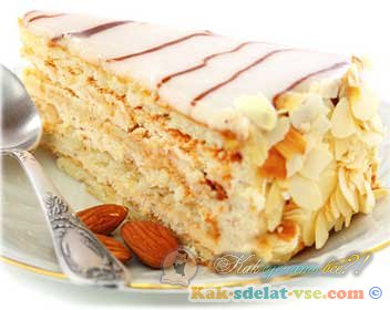 Как приготовить торт Эстерхази?