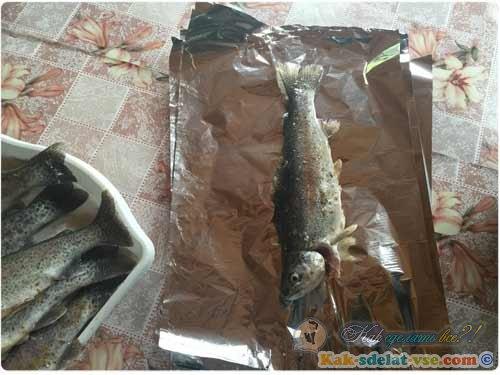 рецепт приготовления сёмги на углях