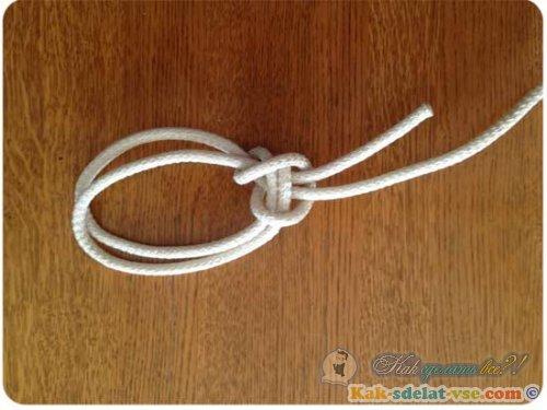 Как завязывать узел булинь?