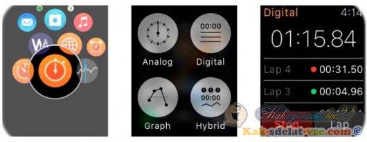 Как установить таймер на Apple Watch?