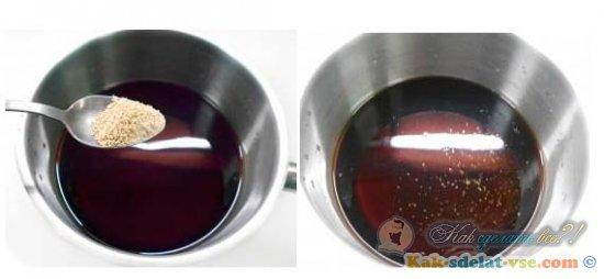 Как приготовить унаги-соус?