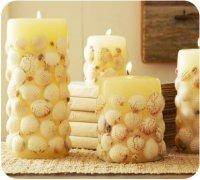 Как сделать декоративную свечу?