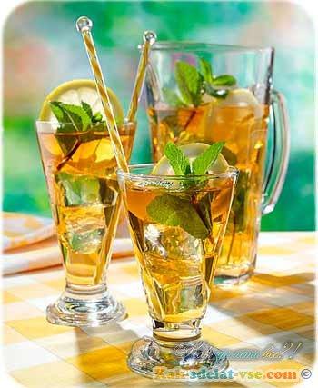 как приготовить летний напиток рецепт