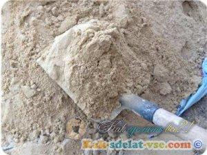 Сколько песка в ведре?