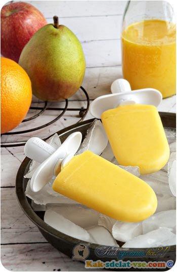 Как сделать дома фруктовый лед