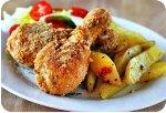 Как приготовить куриные бедрышки?