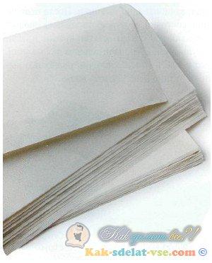 Как сделать рисовую бумагу?