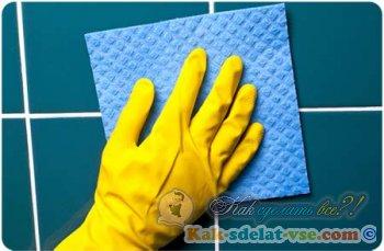 Как очистить швы между плиткой?