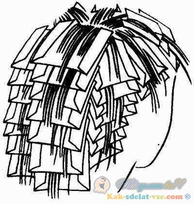 Прически своими руками в домашних условиях на волосы средней 77