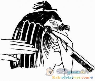 Как окрашивают волосы омбре в домашних условиях 19