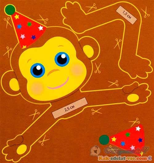 Как сделать игрушку обезьянку фото 367