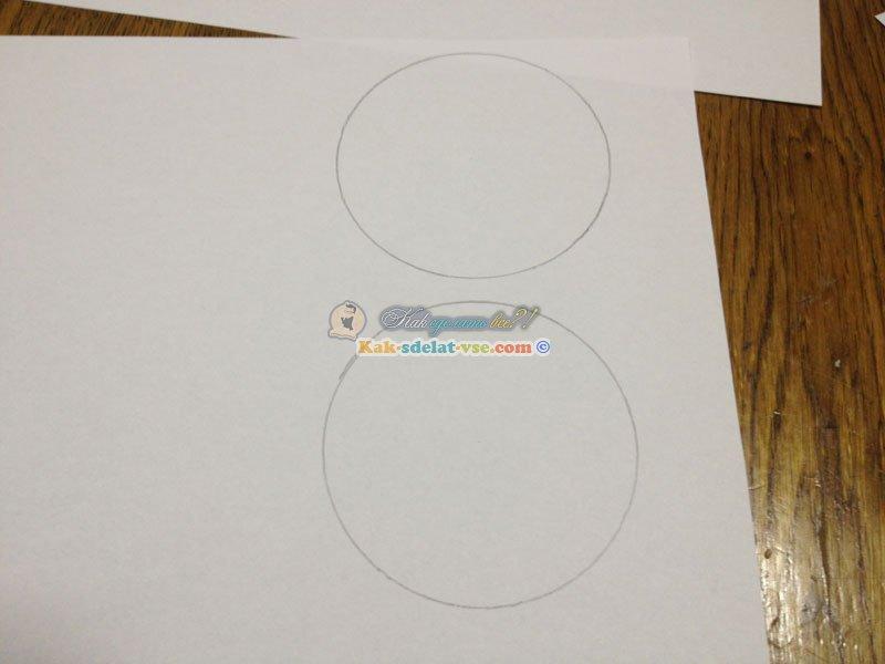 Цилиндр из картона своими руками схема фото 917