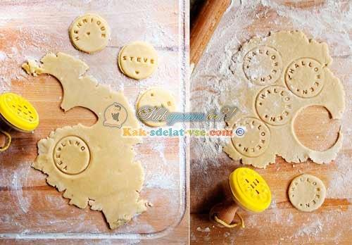Как сделать печенья рецепт с