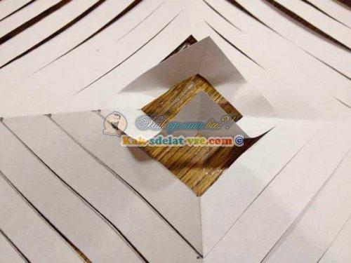 Как сделать объемную снежинку из бумаги?