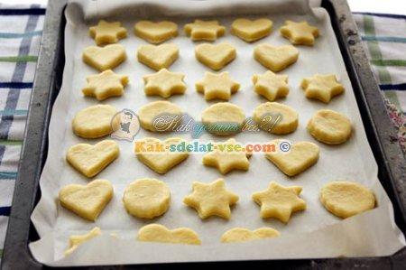 Как сделать новогоднее печенье?