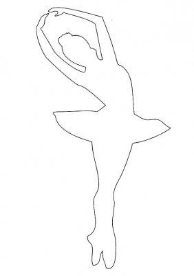 Как сделать снежинки балеринки?